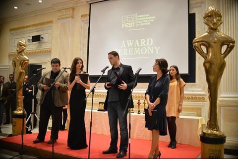 Kosovar director Ernest Meholli received the audience award for Gone Back